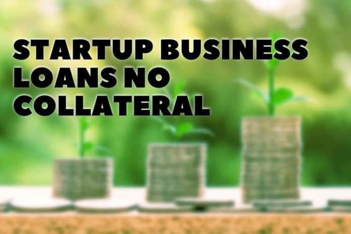 Startup Business Loans No Collateral
