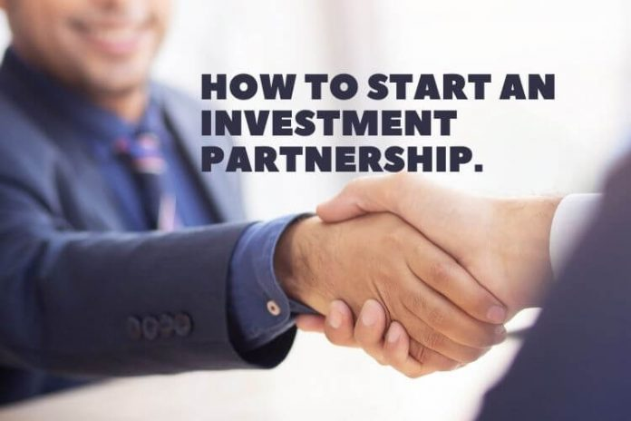 How to start an investment partnership.